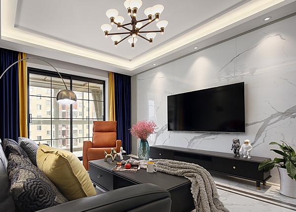 現代簡約-浦泰和天下-四室兩廳-120平米