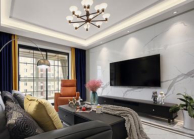 现代简约-浦泰和天下-四室两厅-120平米