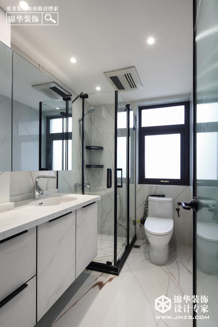 现代简约-东方天郡-三室两厅-122平米装修-三室两厅-现代简约