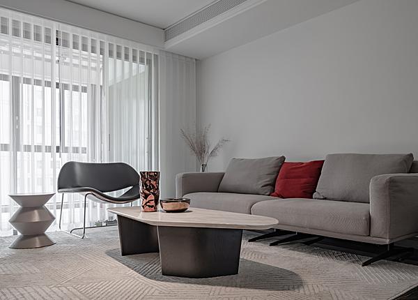 現代簡約-萬科金域國際-三室兩廳-140平米
