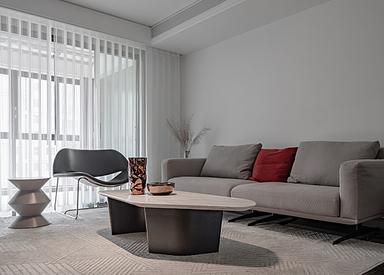 现代简约-万科金域国际-三室两厅-140平米