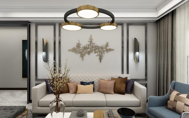 【风尚】 大名城紫金九号 100平米 现代简约风格