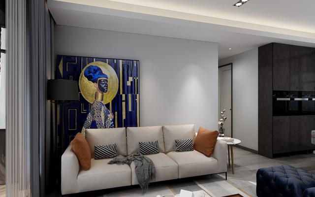 【大氣】 大名城紫金九號 158平米 現代簡約風格