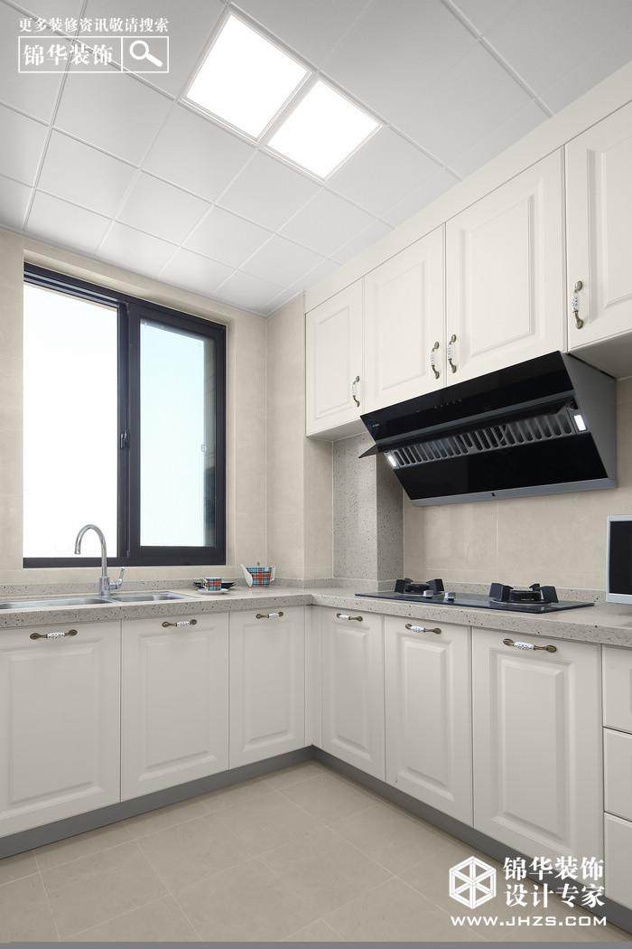 现代美式-江山汇悦山府-96平米-三室两厅装修-三室两厅-简美