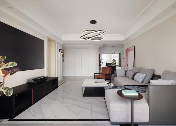 現代簡約-藍寶灣花園-三室兩廳-160平米