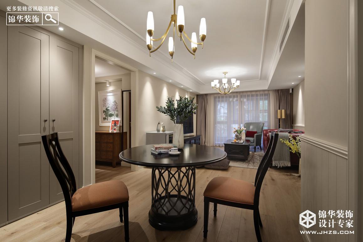 美式-大发融悦-四室两厅-120㎡装修-四室两厅-简美