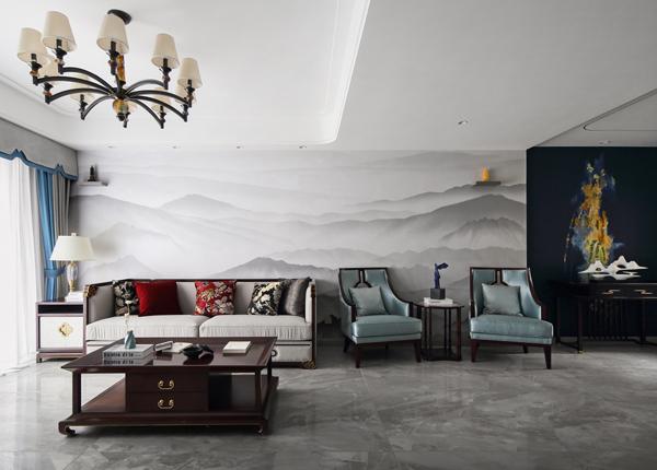 新中式-龙湖春江郦城-四室二厅-220㎡
