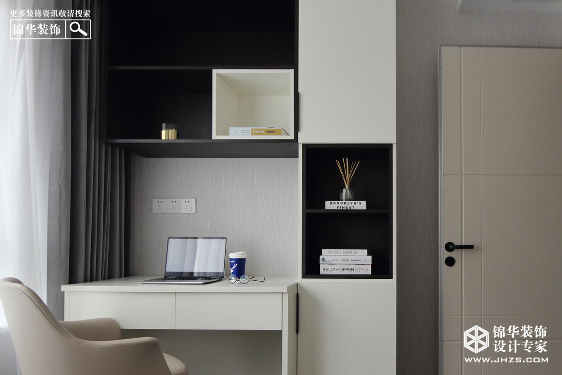 现代轻奢-高科荣境-三室两厅-95㎡装修-两室两厅-轻奢