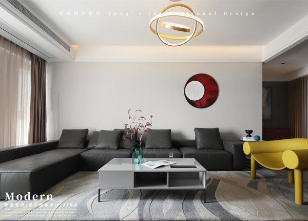 现代风格-斯亚首府-四室两厅-270㎡