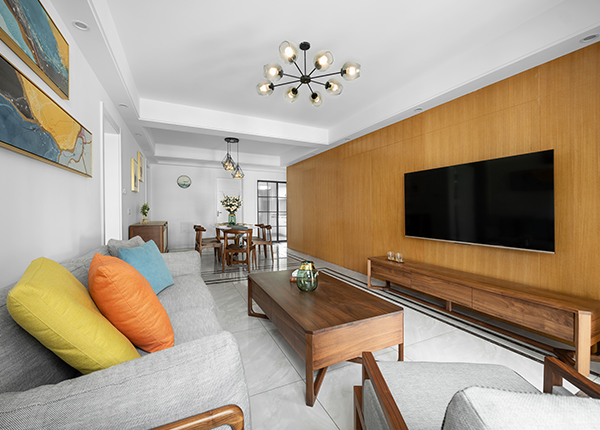 木色-紫金铭苑-现代简约-100平米