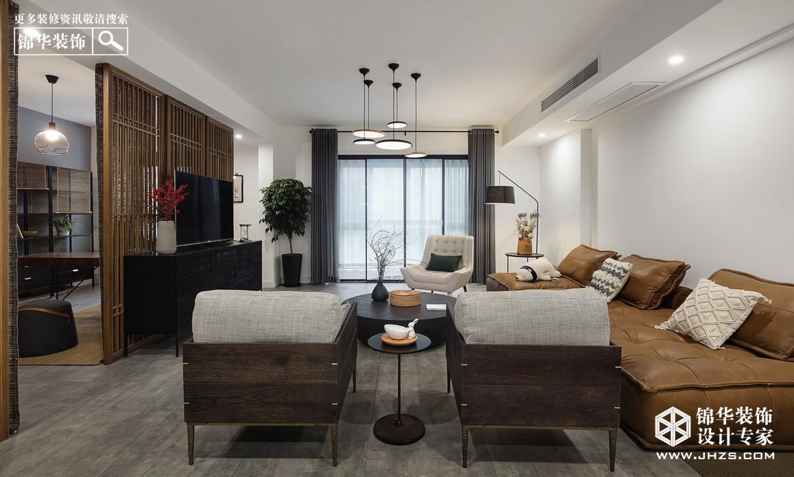 简约-净室.濯莲居-四室两厅-280㎡装修-四室两厅-现代简约