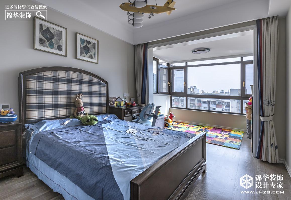 简美-德水香林-四室两厅-133㎡装修-四室两厅-简美