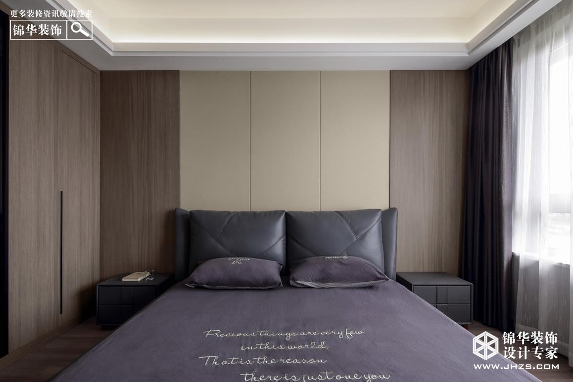 紫金华府装修-三室两厅-现代简约