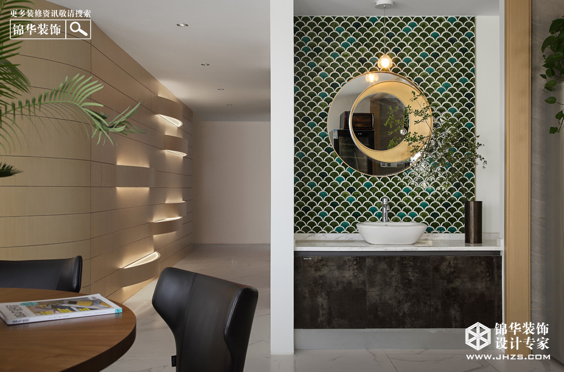 现代-金鼎湾·如院-四室两厅-260㎡装修-四室两厅-现代简约