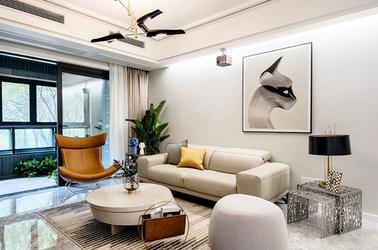 现代简约-中电颐和府邸-两室两厅-91㎡