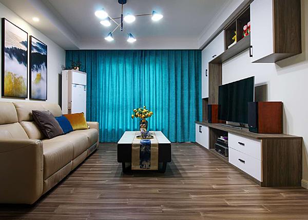现代简约-怡馨花园-两室两厅-77㎡