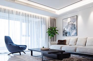 现代简约-金陵湾-四室两厅-220㎡
