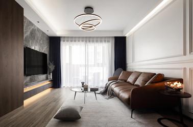 现代风格-朗诗国际社区-两室两厅-96㎡