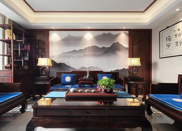 新中式-西堤国际-四室两厅-140㎡