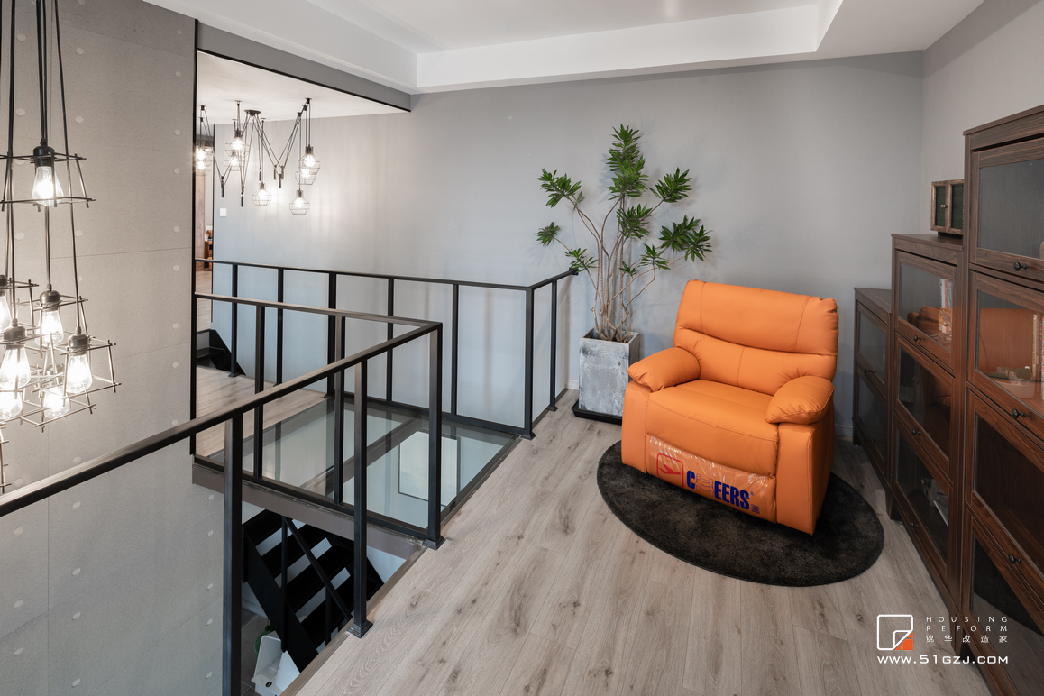 现代简约风格-金地自在城-三室1厅-110㎡装修-三室一厅-现代简约