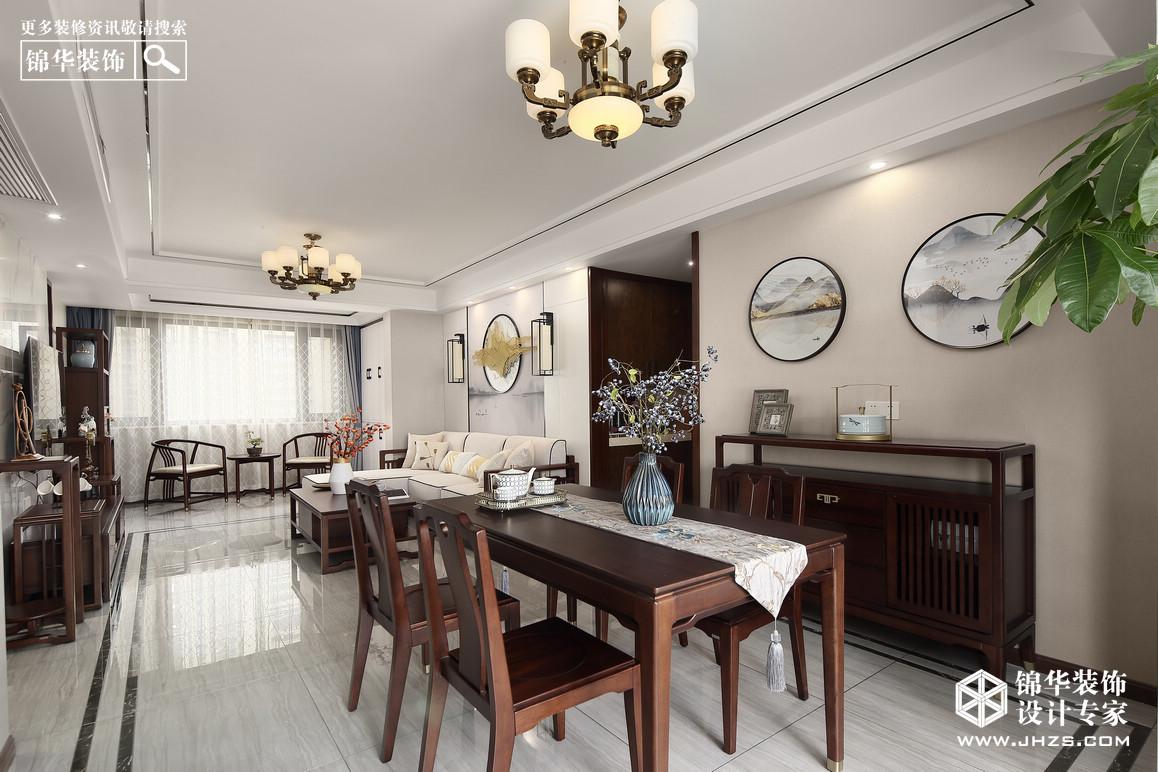 新中式-融僑中央-四室兩廳-139㎡裝修-四室兩廳-新中式