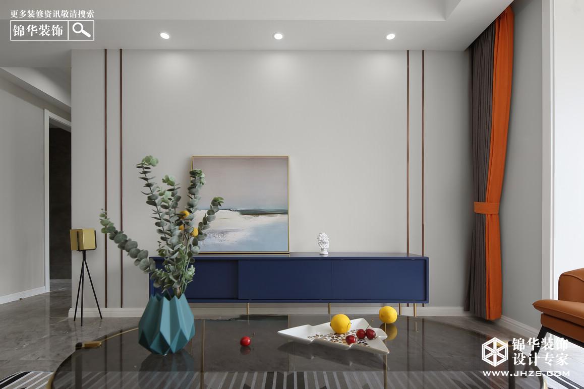 現代輕奢-電建洺悅府-三室兩廳-105㎡裝修-三室兩廳-輕奢