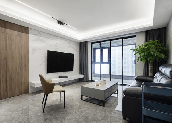 现代简约-世茂外滩新城 -三室两厅-140㎡