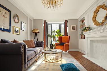 美式輕奢-奧體新城海棠園-兩室兩廳-90㎡