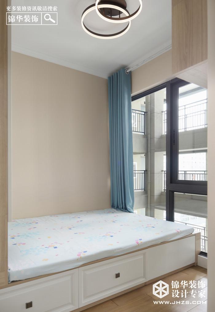 北欧-中交锦致-两室两厅-88㎡装修-两室两厅-北欧