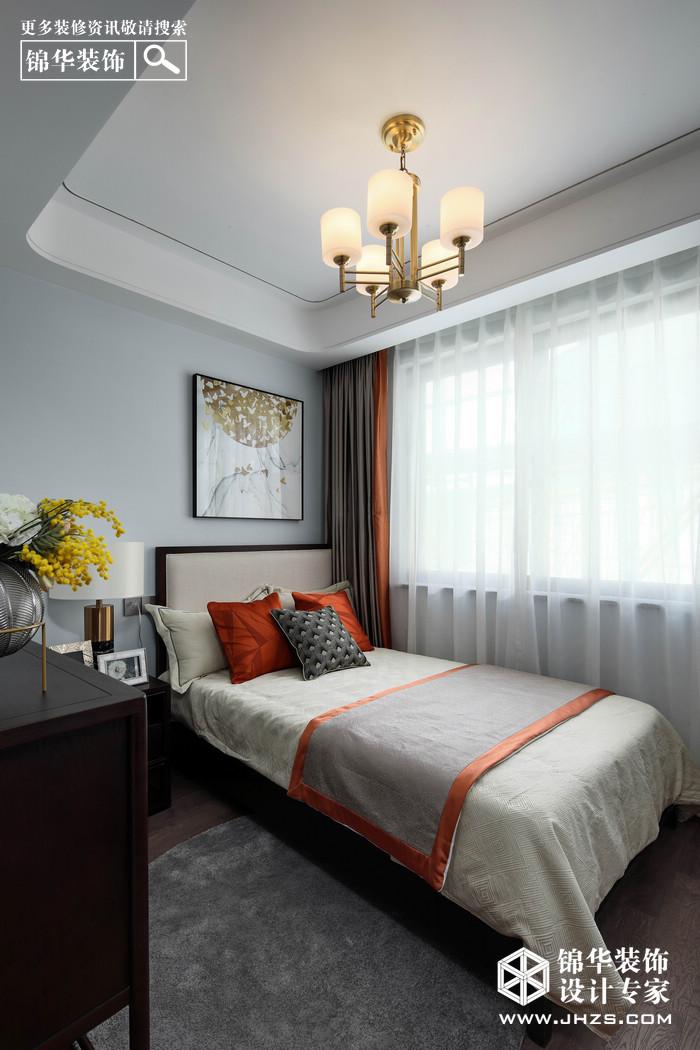 新中式-金盛田錦上-四室兩廳-130㎡裝修-四室兩廳-新中式