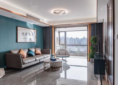 新中式-金浦御龙湾-三室两厅-138㎡
