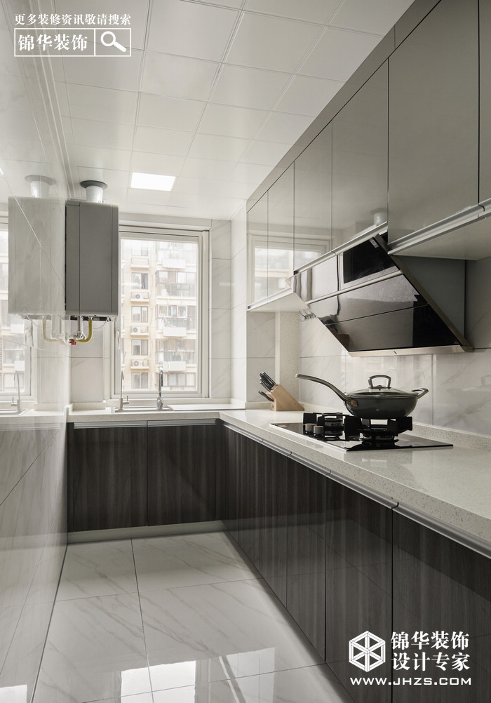 現代-中垠紫金觀邸-四室兩廳裝修-四室兩廳-現代簡約