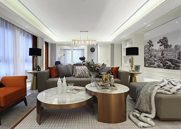 现代欧式-金鼎湾·今朝天下-四室两厅-200㎡