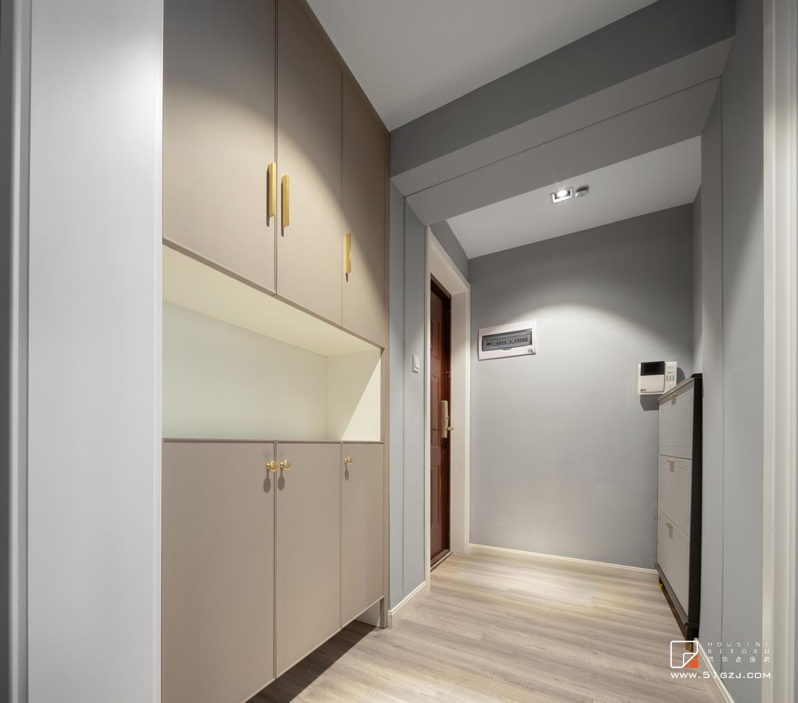 現代輕奢-·香悅瀾山-三室一廳-120㎡裝修-三室一廳-輕奢