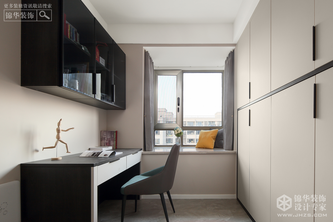 现代简约-中电颐和家园-两室两厅-96㎡装修-两室两厅-现代简约