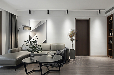 现代简约-中垠紫金观邸-四室两厅-125㎡