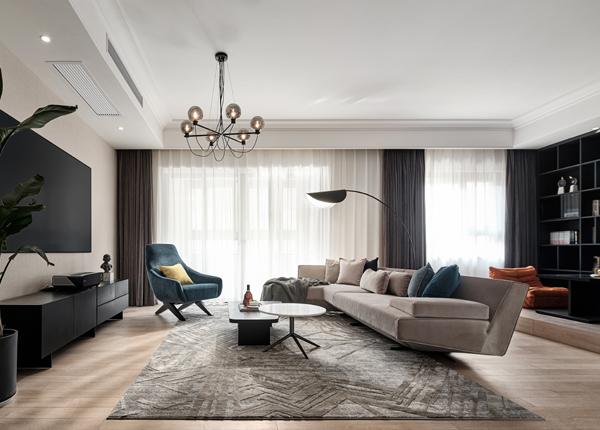 现代简约-华新城璟园-三室两厅-169㎡