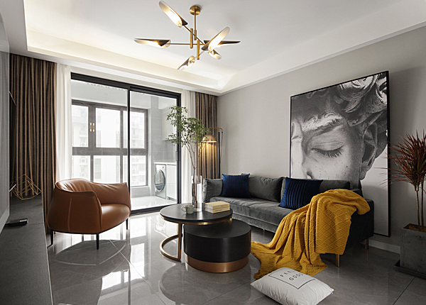 現代簡約-綠地理想城-三室兩廳-102㎡