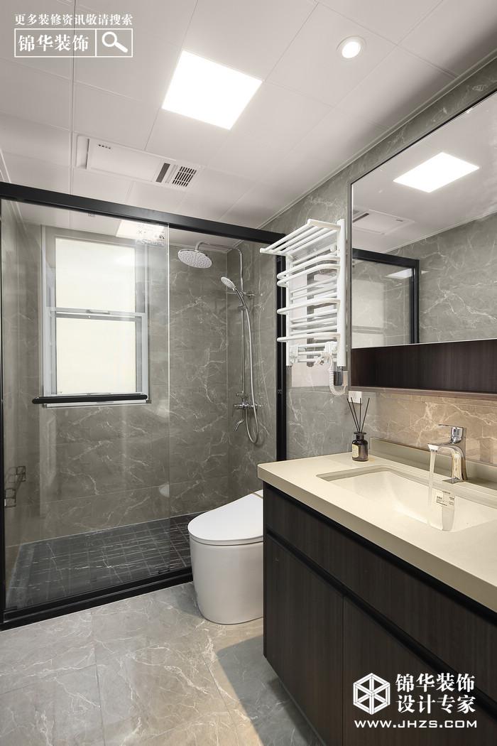 现代-电建洺悦府-三室两厅-105㎡装修-三室两厅-现代简约