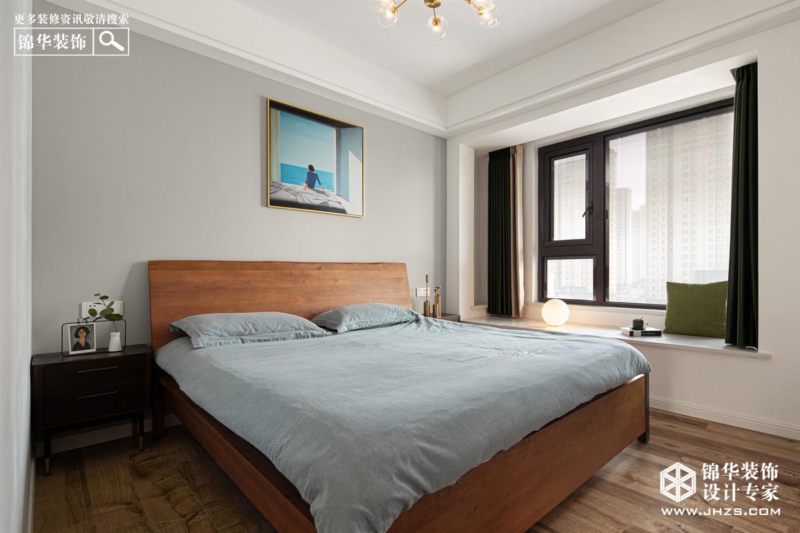 简约自然风-江山大境-两室两厅-119㎡装修-两室两厅-现代简约