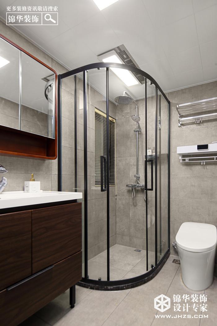 現代-中南山錦花城-三室兩廳-98㎡裝修-三室兩廳-現代簡約