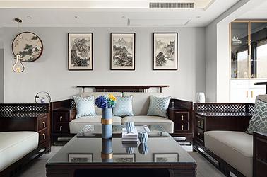 新中式-江雁德水香林-三室兩廳