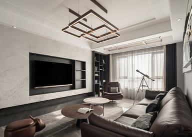 现代简约-金陵湾-三室两厅-122㎡