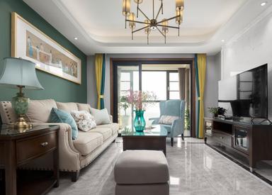 美式-威尼斯水城-三室两厅-120㎡