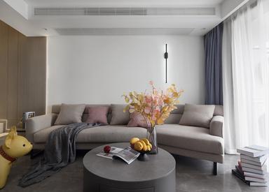 现代简约-东方龙湖湾-四室两厅-120㎡