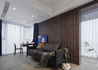 现代极简-世茂荣里-两室两厅-89㎡