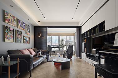 现代-大鐗银巷66号-三室两厅-128㎡