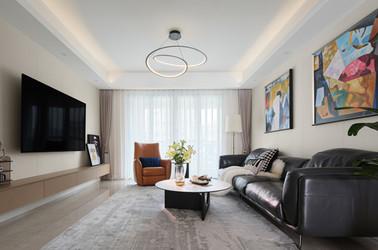 现代简约-金鼎湾国际-三室两厅-140㎡