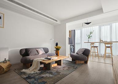 北欧-万科金色家园-三室两厅-134㎡