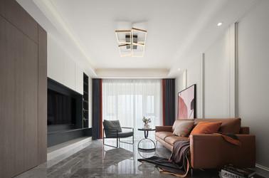 现代简约-大名城紫金九号-三室两厅
